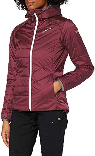 ORTOVOX Damen Swisswool Piz Bernina Jacke, Dark Wine, S