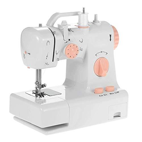 Bdesign Máquina de Coser, Hacer a Mano multifunción portátil de la reparación de la máquina, Robusta máquina de Coser del hogar Comer Grueso Pedal de la máquina de Coser
