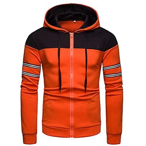 Hombres Invierno Cálido Sudaderas Slim Fit con Capucha Abrigo Sudor Camisa Outwear Hombres