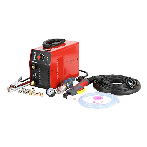 HEROCUT Plasma Cutter, CUT35 30Amp 110V High Frequency 50/60Hz IGBT Inverter Air Plasma Cutting Machine Max Cutting Thickness 10mm (110 Voltage)