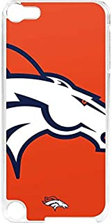 Skinit NFL Denver Broncos iPod Touch 6th Gen LeNu Case - Denver Broncos Large Logo Design - Premium Vinyl Decal Phone Cover