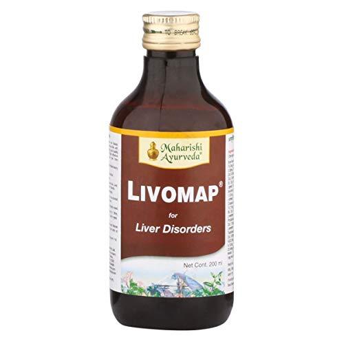 Maharishi Ayurveda Livomap Liquid, ayurvedisches Nahrungsergänzungsmittel, 200 ml