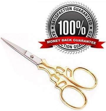 Super Sharp Straight Edge cuticules/Ciseaux à ongles, Doré/argenté Steelsuper Sharp Straight Edge cuticules/Ciseaux à ongles, Acier Doré/argenté