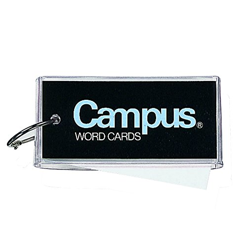 コクヨ『キャンパス単語カード(カバー付き表紙)大長60枚(120)』