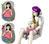 Acobonline inturón de Seguridad, de maternidad cinturón ajustable para Embarazadas, Comodidad y Seguridad para Futuras Mamás, Protege a Tu bebé por nacer, Un Imprescindible para las Embarazadas