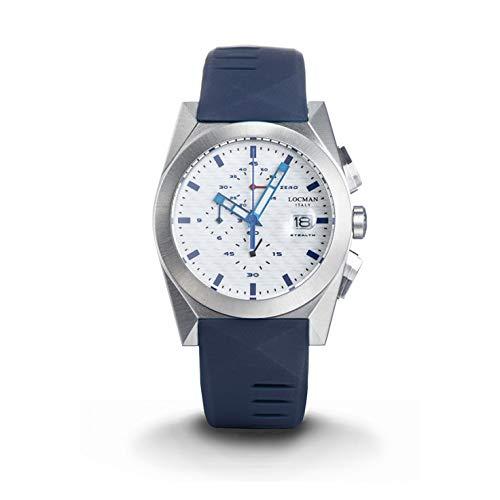 LOCMAN Reloj analógico de Cuarzo con Correa de Acero Inoxidable, Transparente, 3 (Modelo: 4573282437711)