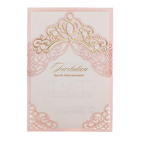 「Princess Dream」WISHMADE Pink & Gold Crown Baby Shower...