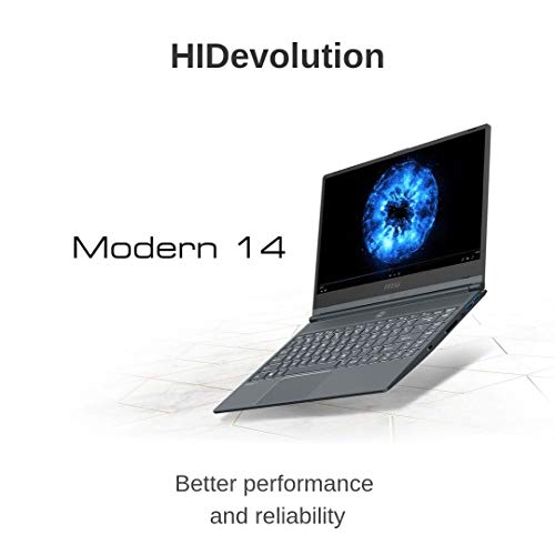 Compare HIDevolution MSI Modern 14 A10M (MS-Modern14460-HID7) vs other laptops