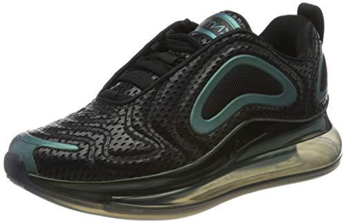Nike Air MAX 720 GS AQ3196-003, Zapatillas Unisex Adulto, Negro Black Aq3196 003, 38 EU