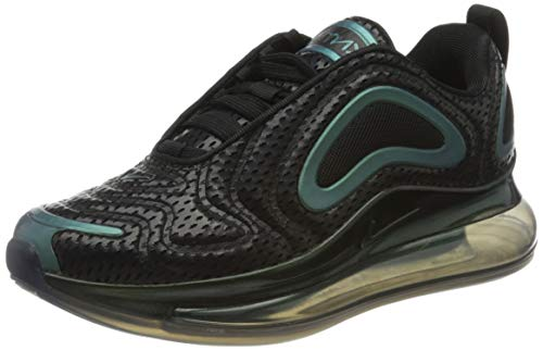 Nike Air Max 720 GS, Scarpe da Ginnastica Unisex-Adulto, Nero (Black Aq3196-003), 36.5 EU