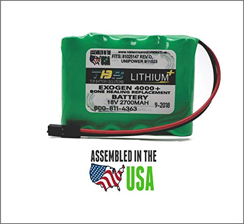 1pc Replacement Battery Exogen 4000+ and 2000+ Bone Healing System 81025147