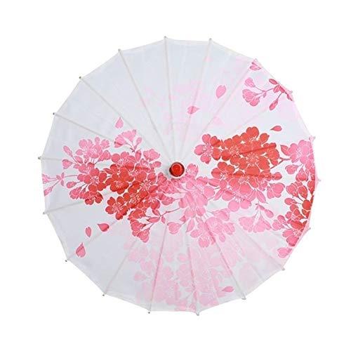 wasserdichte Klassisches Sonnenschirm Öl Papier Sonnenschirm Weibliche Kunst Gemalt Alte Regenschirm Sonnenschutz (Color : A3)