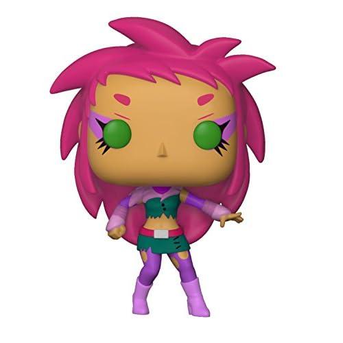 Funko- Pop Vinile: Teen Titans Go: TNBTS: Starfire The Night Begins To Shine, Multicolore, 9 cm, 28680
