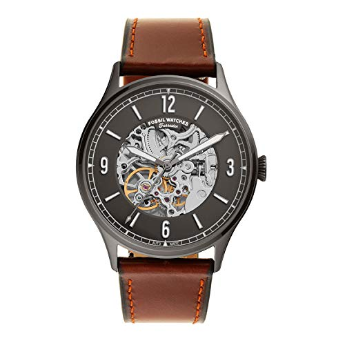 Fossil Analog Grey Dial Men's Watch-ME3178