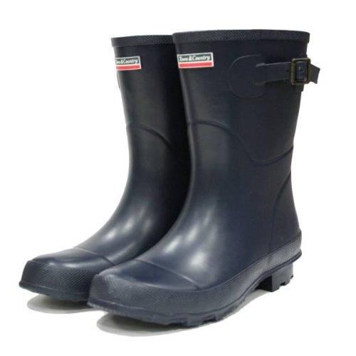 Town & Country Le Bradgate Botte Courte UK Size 7 Bleu Marine