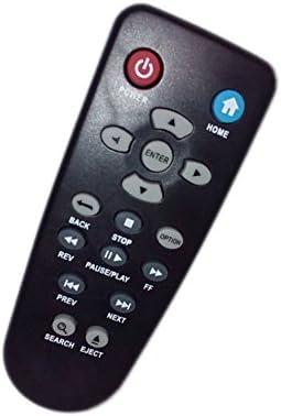 JustFine Replaced Remote Control Compatible for Western Digital WD TV Live Streaming Media Player WDBHG70000NBK WDBGXT0000NBK