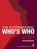 The International Who's Who 2021 (Europa Biographical Reference)