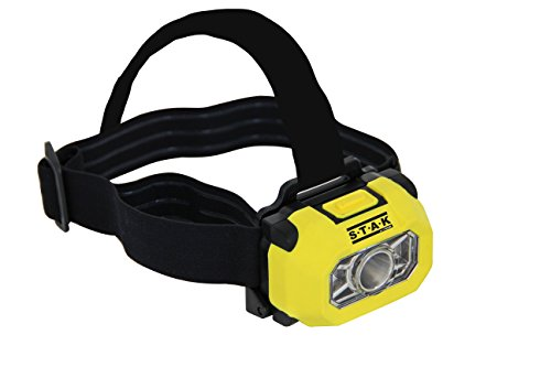 Velamp HEADEX Luz frontal LED Atex, 200 lúmenes, Zona 0, IP67, 3 W, Amarillo