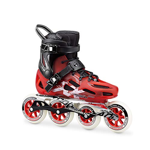 Rollerblade Maxxum 100Patines en línea, unisex, MAXXUM 100, rojo y negro, 280