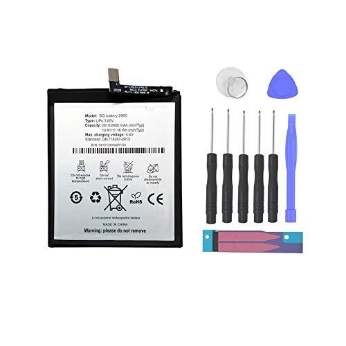 Pattaya BQ 2900 Bateria Compatible con BQ Aquaris X5 Kit de Recambios
