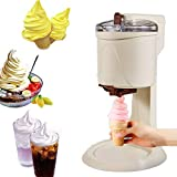UPANV Soft Serve Ice Cream Machine, Fully Automatic Mini Fruit Soft Serve Ice