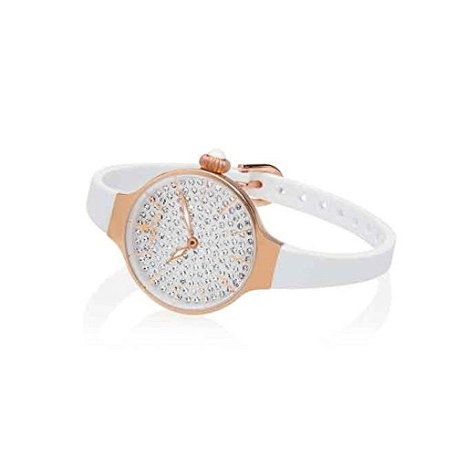 Orologio Donna Chérie Diamond 160 Rose Gold Bianco Hoops
