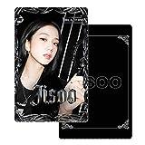 Jyuesi Kpop Blāckpink Spotify Colectivo Lomo Tarjetas HD Fotográficas Buenos Regalos para los fans de Kpop (JISOO2)