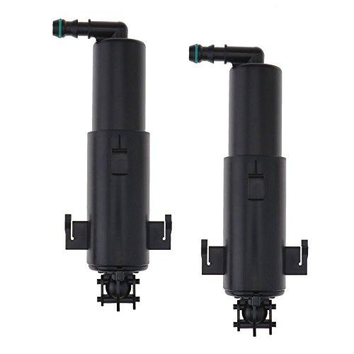 2x Wasserdruckpumpen Reinigung Pumpe Wischwaschdüse Hubzylinder Spritzdüse Waschwasserdüse Teleskopdüse