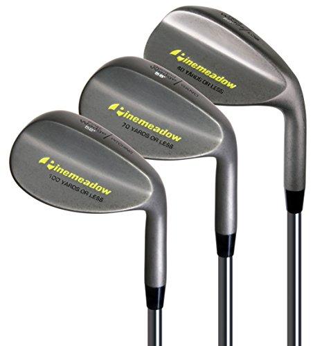 Pinemeadow Golf Men's 3 Wedge Set, Right Hand, Steel, Regular