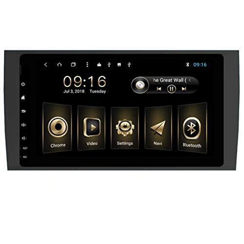 TOPNAVI 32Go Android 8.1 8inch Stéréo pour Porsche Cayenne 2003 2004 2005 2006 2007 2008 2009 2010 Navigation GPS Radio WiFi 3G RDS Lien Miroir FM AM BT
