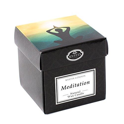 Mystix London, candela profumata da meditazione, misura grande, 29 cl