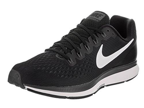 Nike Men's Air Zoom Pegasus 34 Running Shoe Black/White-Dark Grey-Anthracite 14.0
