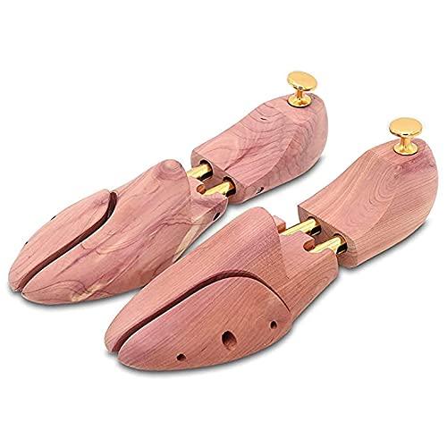 SJYSD-Bath Mat Expansores para árboles de Zapatos para Estirar Zapatos - Se expande la Longitud, Zapato con Abertura Lateral de Cedro 27 cm