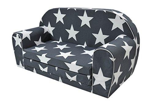 Canapé-lit MoMika - Pour enfant - 2 places - Pour dormir et jouer
