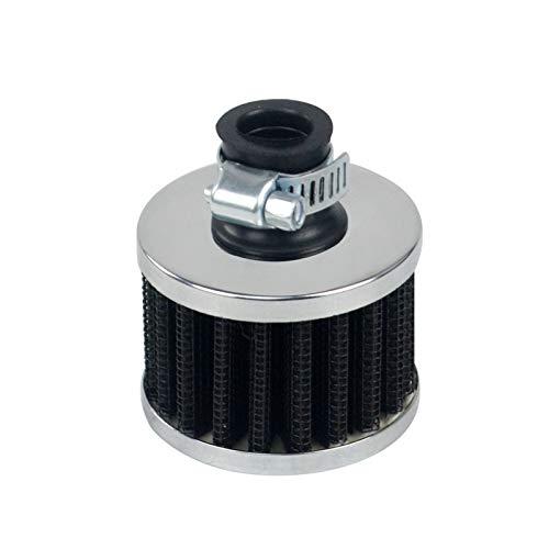 Filtro de Aire de Flujo Super Power Universal 51 * 51 * 40 Cuello 12mm Filtro de admisión de Aire automático automóvil WLR-AIT12 (Color : A)