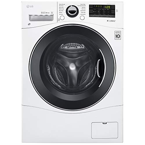 LG WM1388HW 2.3 Cu. Ft. White Stackable Front Load Washer - Energy Star