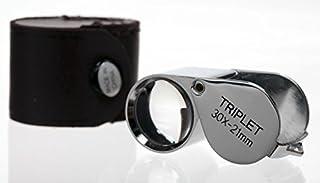 SE Professional Quality 10x 21 mm LED Triplet Loupe MJ37801L
