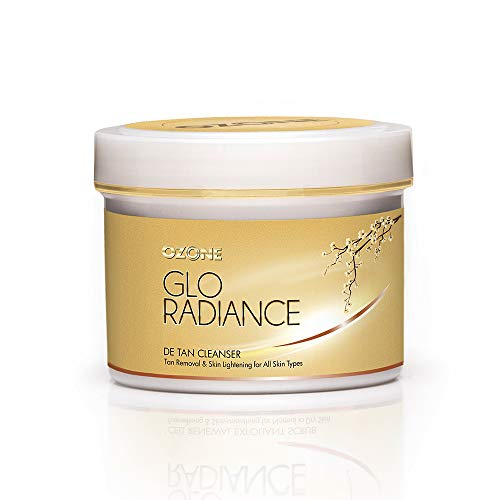 Ozone Glo Radiance DE TAN Facial Cleanser – 250 G. – Tan Removal Facial Cleanser