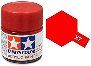 Tamiya Models X-7 Mini Acrylic Paint, Red