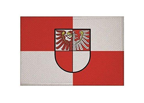 U24 Aufnäher Landkreis Barnim Fahne Flagge Aufbügler Patch 9 x 6 cm