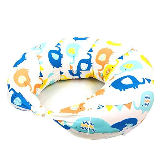 Baby GOUO@ Coussin d'allaitement Oreiller d'allaitement Oreiller en Forme de U Oreiller de Lune Enceinte Femme Se nourrissant Taille Pad Apprentissage de bébé
