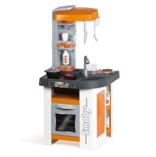 Smoby-311016 Cocina Studio, Color Naranja, (311016)