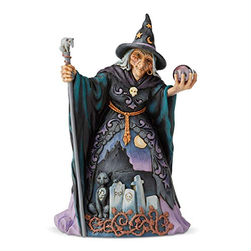 Enesco 6004326 Figura de Bruja, Multicolor, Talla única
