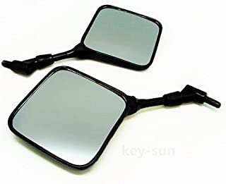 Key-Sun Dual Sport Motorcycle Mirrors for Honda XL XR 200 250 400 600 650 XR600R XR650L Pair