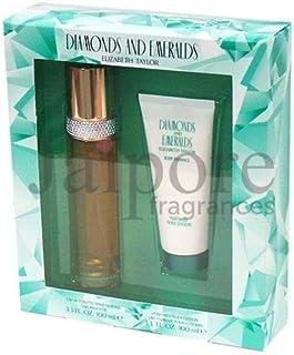 Elizabeth Taylor Diamonds & Emeralds EDT + Perfumed Body Lotion, 100 ml