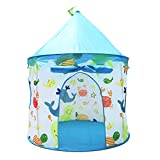 Benebomo Tentes de Jeu pour Enfants yourte,Maison de Tente pour Enfants,tipi pour Enfants,tentes de Jeu Pop-up pour bébé,tentes pour bébé,Tente de Jardin pour Maison de Jeu pour bébé,Pliable