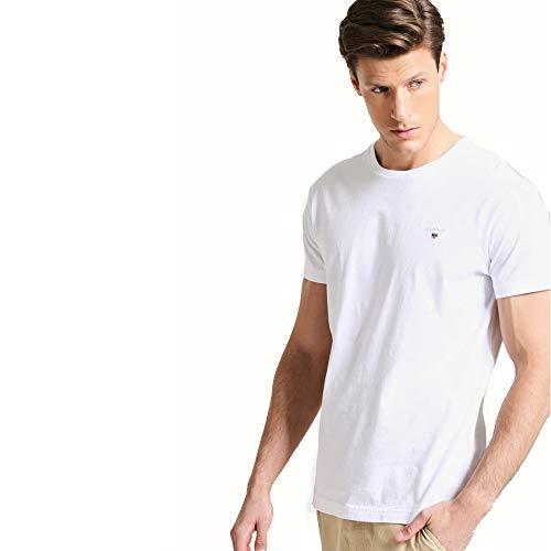 GANT Camiseta básica The Original (S, White)