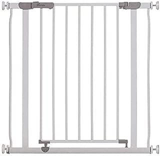 Barandilla Puerta de Seguridad Retr/áctil Tama?os Anchos Y Regulares Caqui XZANTE Puerta de Beb/é Y Mascota A