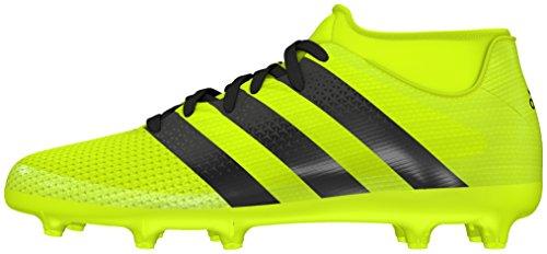 adidas Ace 16.3 Primemesh FG/AG J, Botas de fútbol para Niños, Amarillo (Amasol/Negbas/Plamet), 34 EU