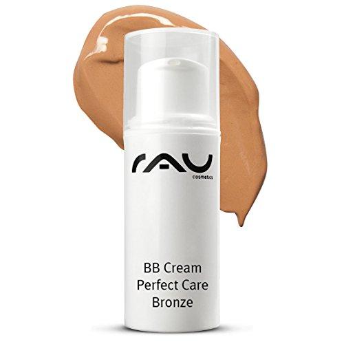 RAU BB Cream Perfect Care Bronze 8 ml - Gesichtspflege & Make-up in Einem - Getönte Tagescreme mit Zink, Vitamin E - Perfekte Abdeckung + Pflege + UV-Schutz